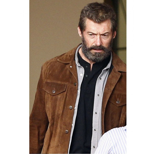X-Men Hugh Jackman Logan Wolverine Jacket