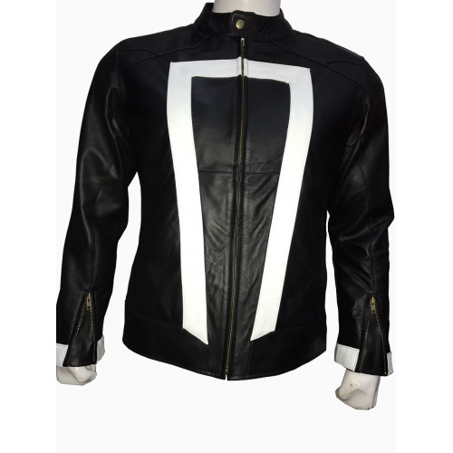 Agents Of Shield Season 4 Ghost Rider Jacket