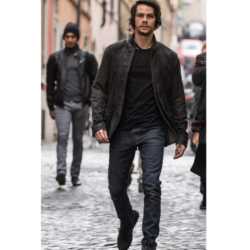 American Assassin Dylan O Brien Leather Jacket