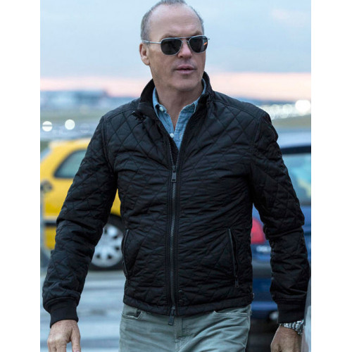 Michael Keaton American Assassin Stan Hurley Jacket