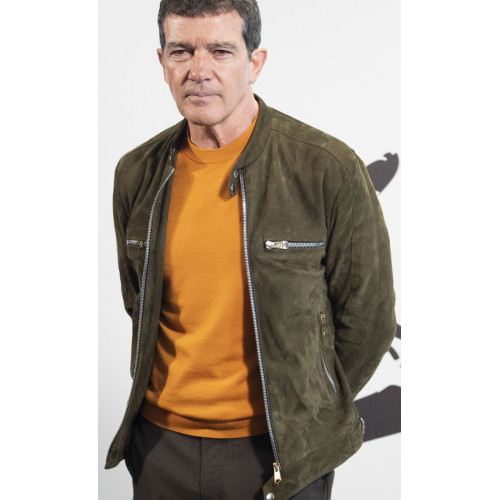 Antonio Banderas Pain Glory Leather Jacket