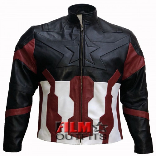 Captain America Avengers Infinity War Chris Evans Jacket