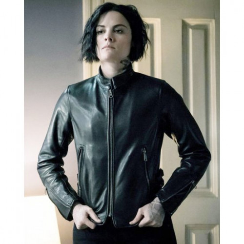 Jaimie Alexander Blindspot Leather Jacket