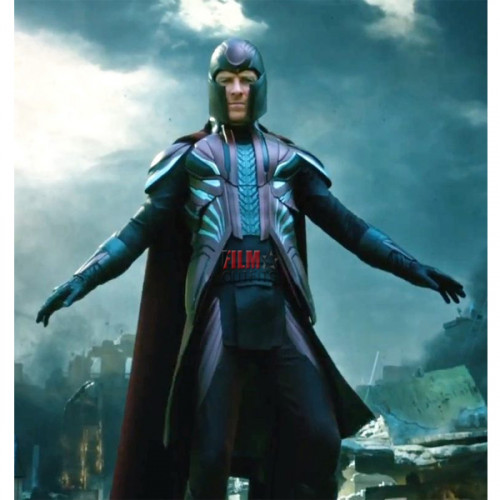 Dark Phoenix Michael Fassbender Red Coat