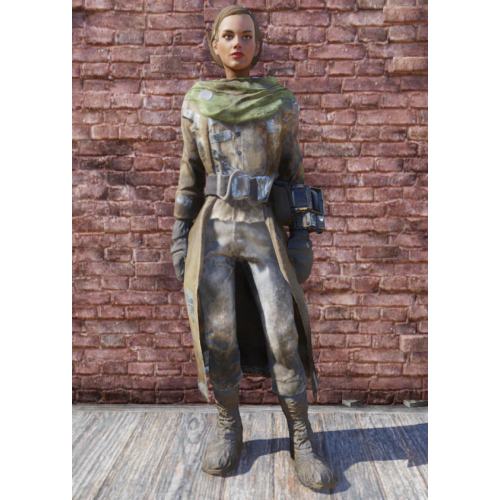 Fallout 76 Traveling Leather Coat