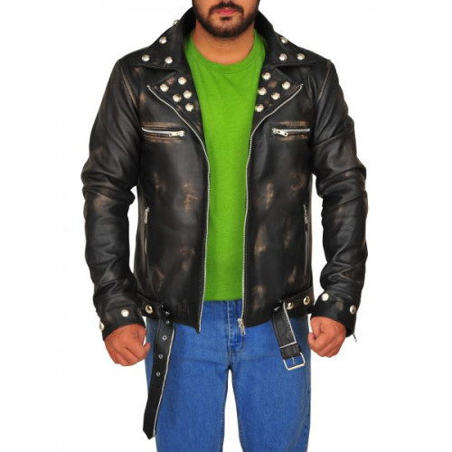 Fallout 3 Tunnel Snakes Rule Leather Jacket