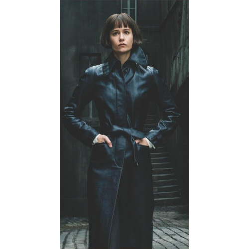 Fantastic Beasts 2 Tina Goldstein Leather Coat
