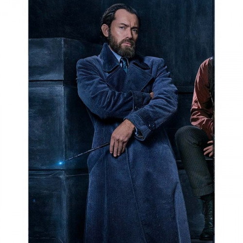 Fantastic Beasts 2 Albus Dumbledore Coat