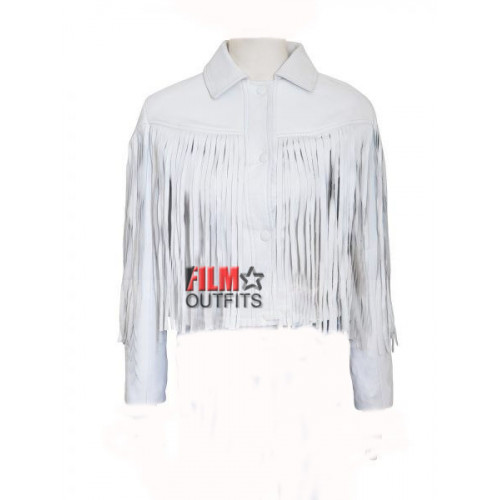 Ferris Buellers Day Off Sloane Peterson Fringe Jacket