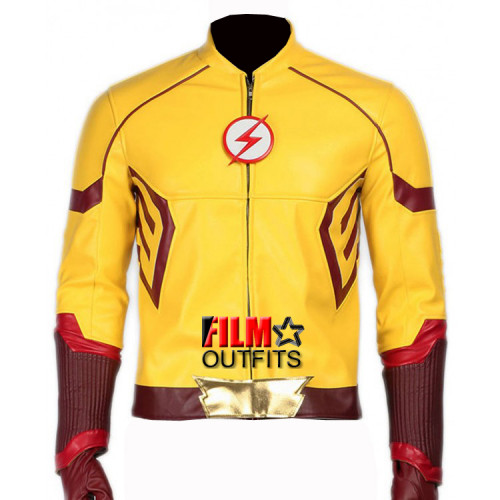 Wally West Kid Flash Jacket Costume