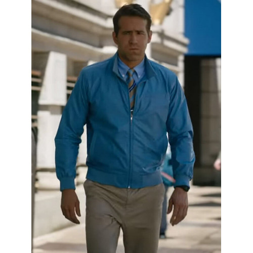 Ryan Reynolds Free Guy Bomber Jacket