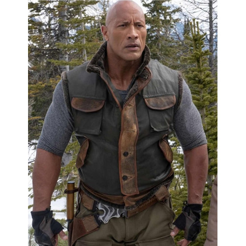 The Rock Jumanji The Next Level Spencer Vest