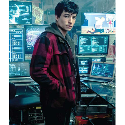2017 Justice League Ezra Miller Jacket
