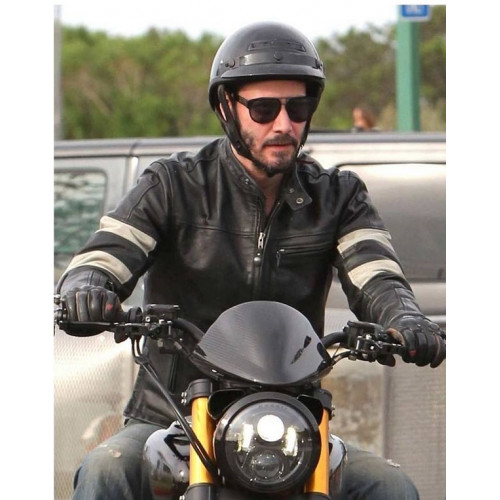 Keanu Reeves John Wick Motorcycle Jacket