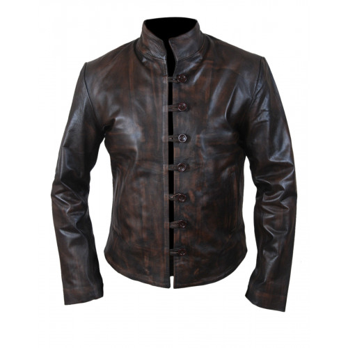 Demons Leonardo da Vinci Brown Jacket