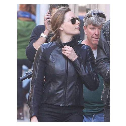 Mission Impossible 6 Rebecca Ferguson Leather Jacket