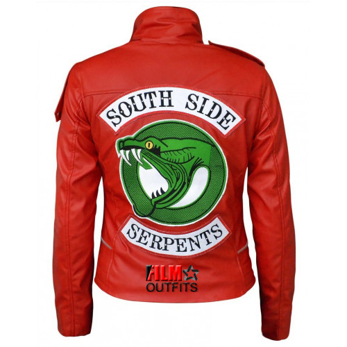 Madelaine Petsch Southside Serpents Riverdale Cheryl Blossom Jacket