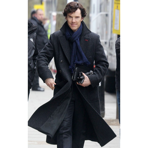 Sherlock Replica Trench Coat