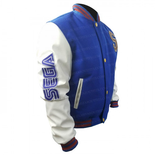 Sonic The Hedgehog Jacket Varsity Bomber Jacket Film Star Outfits