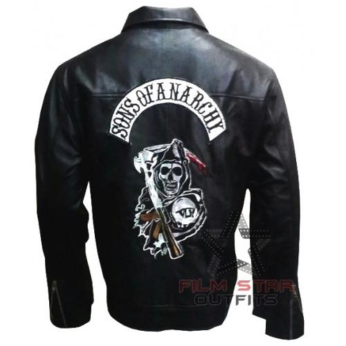 78bdba491 Jackson 'Jax' Teller Sons Of Anarchy Leather Jacket - Film Star Outfits