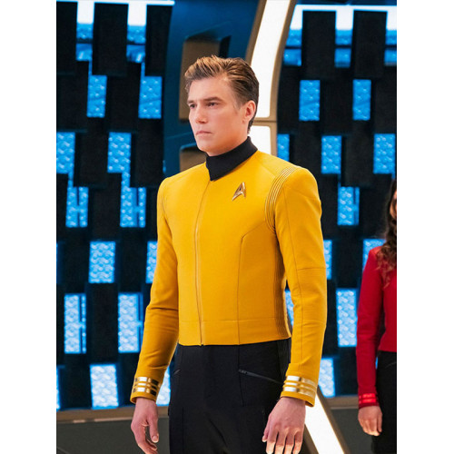 Star Trek Discovery 2 Anson Mount Captain Pike Yellow Jacket