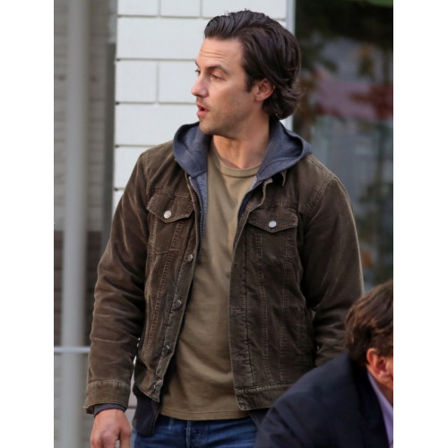 The Art Of Racing In The Rain Milo Ventimiglia Brown Jacket
