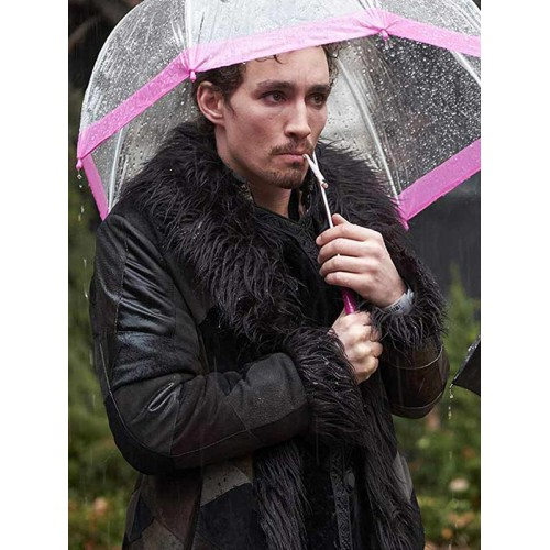 The Umbrella Academy Klaus Hargreeves Shearling Coat