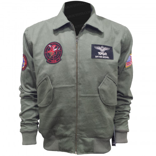 Top Gun 2 Pete Maverick Jacket