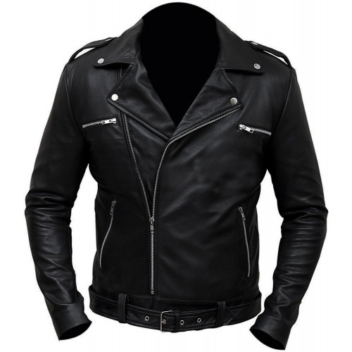 The Walking Dead Negan Motorcycle Jacket