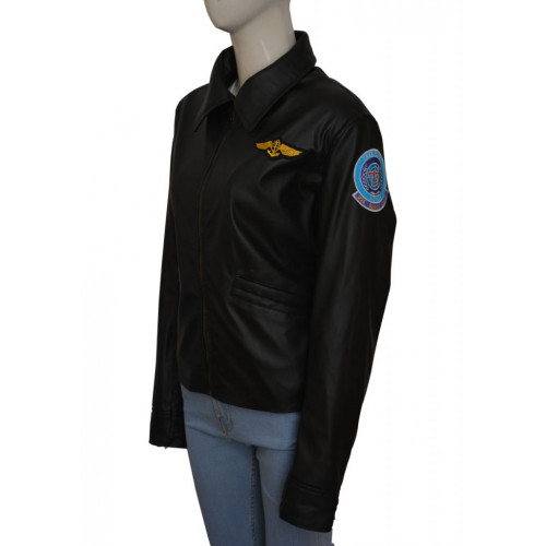 Top Gun Kelly McGillis Jacket
