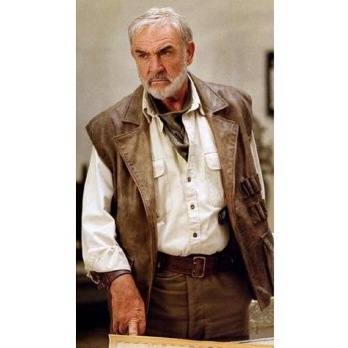 Allan Quatermain Sean Connery Leather Vest