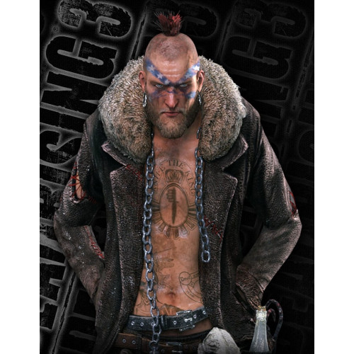 Dead Rising 3 Boss Gang Leather Jacket