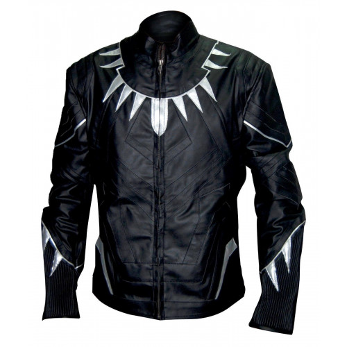 Captain America Civil War Black Panther Jacket