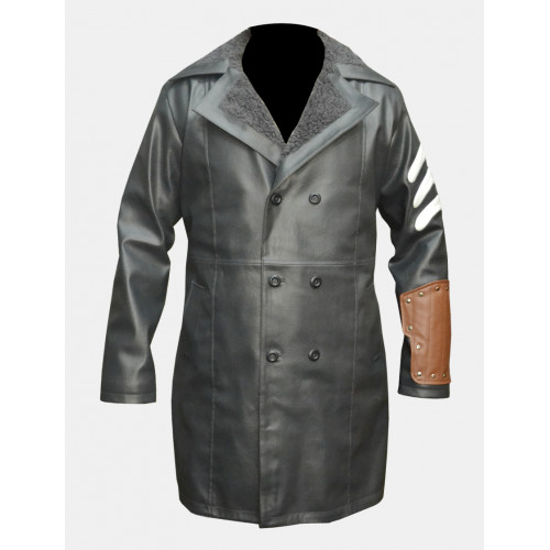 Suicide Squad Captain Boomerang Jai Courtney Coat