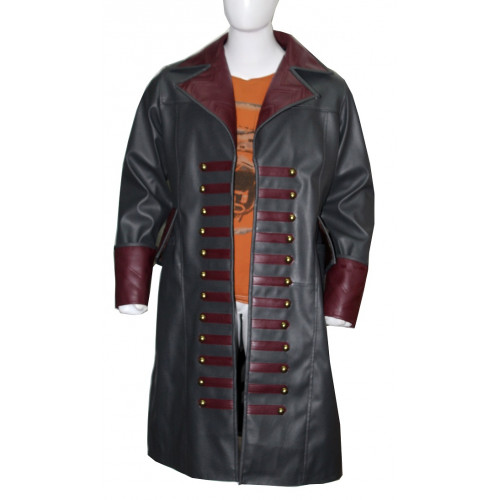 Once Upon a Time Captain Hook Colin O'Donoghue Leather Coat