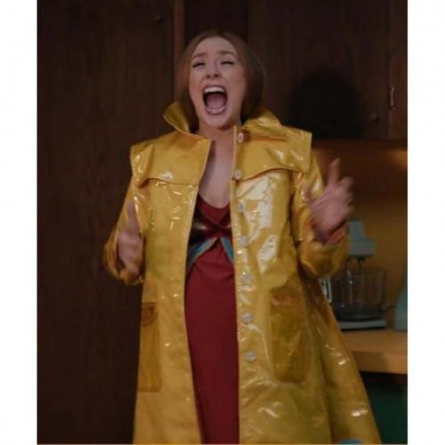 Wanda Maximoff WandaVision Yellow Coat