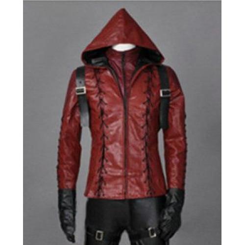 Arsenal Arrow Colton Haynes Season 3 Hoodie Jacket