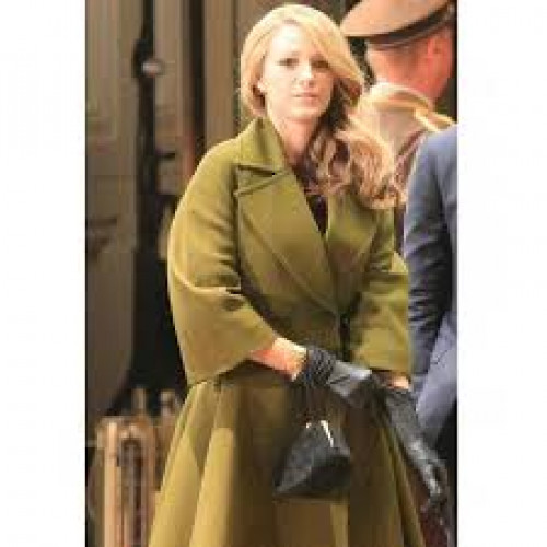 The Age of Adaline Green Trench Coat