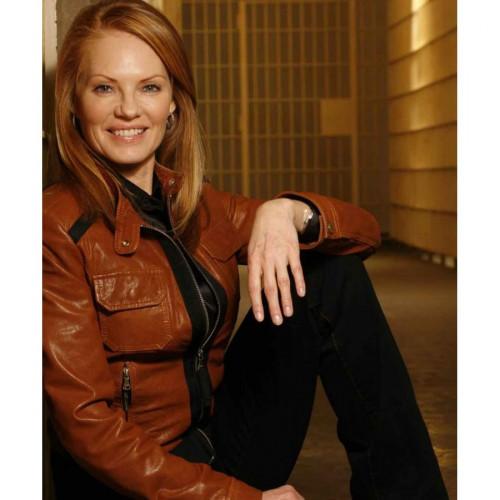 CSI: Crime Scene Investigation Marg Helgenberger Leather Jacket
