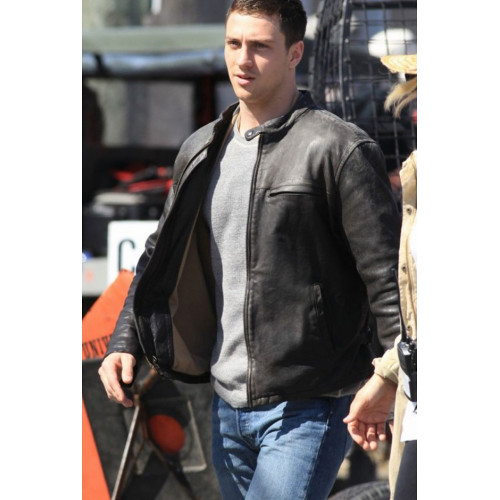 Aaron Taylor Johnson Godzilla Leather Jacket