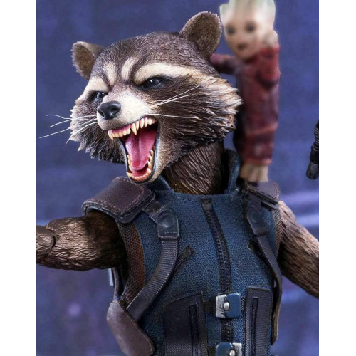 Rocket Raccoon Vest From Guardians of Galaxy Vol 2
