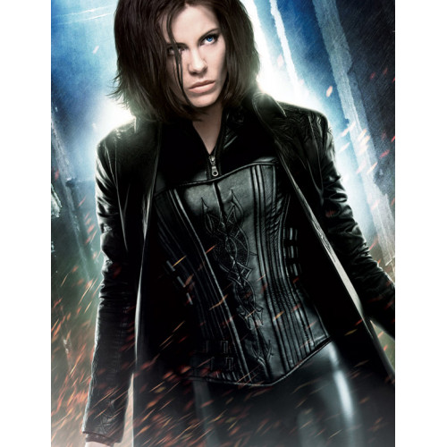 Underworld Kate Beckinsale Leather Coat
