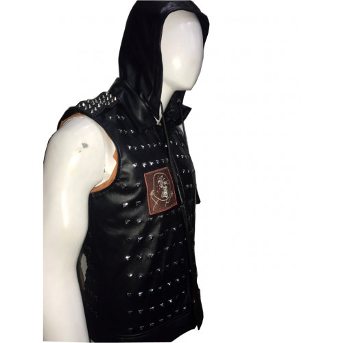 Watch Dogs 2 Wrench Dedsec Studded Leather Vest