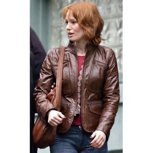 88 Minutes Alicia Witt Leather Jacket