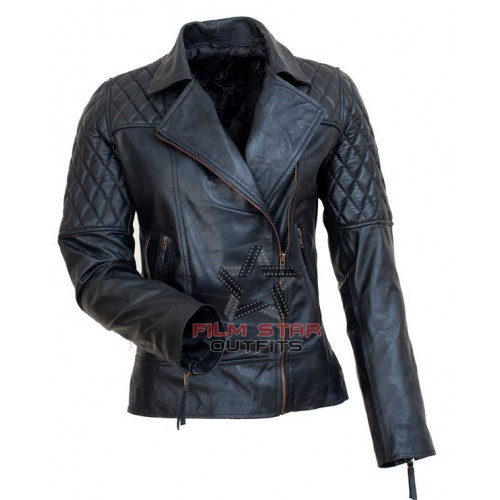 Avril Lavigne UK Brando Style Leather Jacket