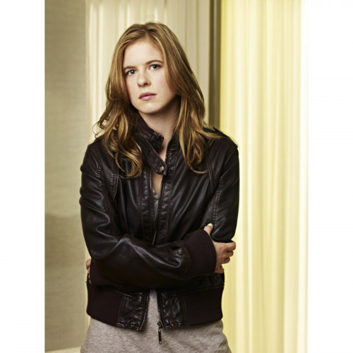 Caprica: Magda Apanowicz (Lacy Rand) Leather Jacket