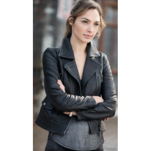 fast and furious 6 gal gadot leather jacket
