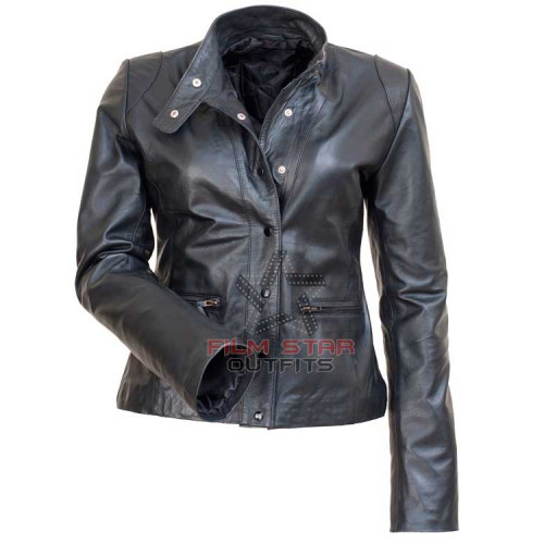 The Mentalist Teresa Lisbon Leather Jacket