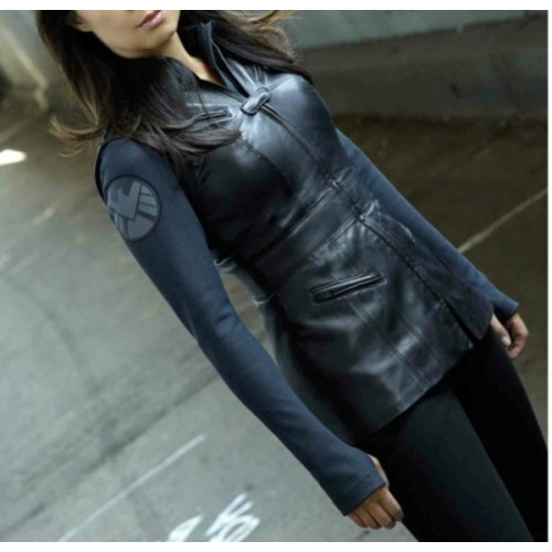 Agents Of Melinda Shield May Leather Vest