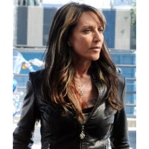 Sons Of Anarchy Katey Sagal Biker Jacket - Filmstaroutfits.com Katey Sagal Leather